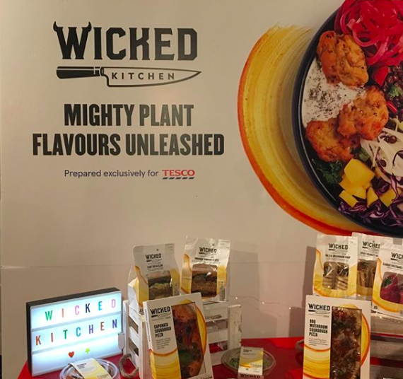 former senior whole foods market global chef derek sarno launches plant based food range wicked kitchen at tesco ethica magazine - Wicked Kitchen