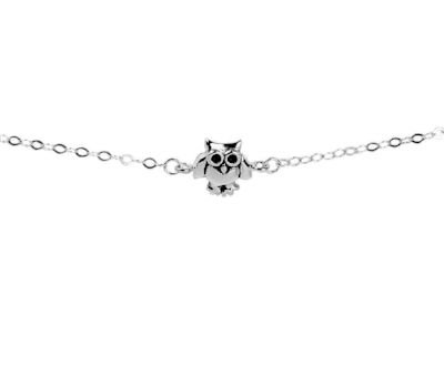 Mantra Jewellery Owl Necklace - Sterling silver. £15