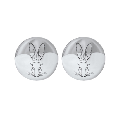 Hargreaves Stockholm Bracteate Mini Stud Earrings - Made with fairmined silver. €95 Euros