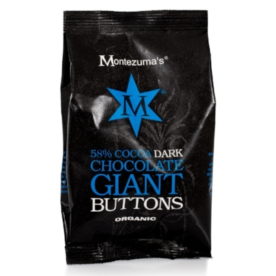 Montezuma's - Organic Dark Chocolate Giant Buttons - A handful of these giant buttons will make most things better but I like to add them to my Easter treat bag and also to my mouth. The chocolate is rich, mellow and creamy without being excessively sweet and while it is easy to eat more of these than intended each giant button is intensely satisfying.