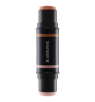 Arbonne Sheer Glow Highlight Stick - This super handy double ended stick highlighter can be used to highlight, add a touch of colour and contour. Use the pearl end to highlight and the bronze end to add shadows and colour. £49