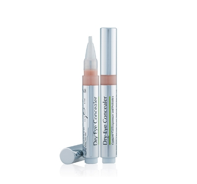 Dry Eye Concealer - Free from nasties and with light reflecting particles, this ultra light concealer has been created with those with sensitive eyes in mind. You can use it everywhere on the face, under makeup and over it or wear it on its own. Its blendable formula melts into the skin, without leaving any marks. Perfect to pop in your handbag and touch up throughout the day. £11.95