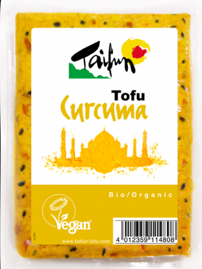 Taifun Curcuma Tofu -  I've been a fan of Taifun's tofu for a long time, especially their olive and smoked ones, so I was delighted to discover this new curcuma spiced tofu. Infused with turmeric and black cumin seeds this little block packs a warming punch that is perfect for adding Indian inspired flavours to a dish or an additional layer of taste to a curry. I fried mine up and added it to a red lentil and coconut stew and it was delicious.£3.79