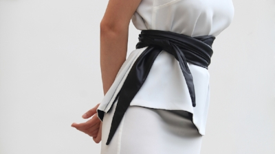 AnnaBorgia Vegan Leather Scarlett Belt  - This vegan leather wrap around belt works beautifully with skirts, dresses and high-waisted trousers. £36