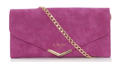 LaBante Starling Pink Purse Bag  - This bright and beautiful bag is perfect for the evening. £65