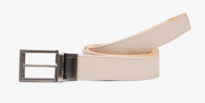 Matt & Nat Dwell Mauri Koala Belt - This unisex reversible belt can be worn on the sand or the mustard side. £40