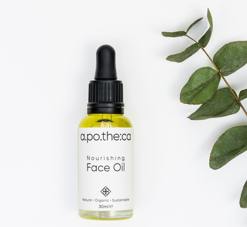 Apotheca Nourishing Facial Oil - Packed with 99% organic rejuvenating oils, including rosehip, jojoba, apricot, evening primrose, borage and vitamin e, Apotheca Nourishing Face Oil is a beautiful and elegant stocking filler. £25