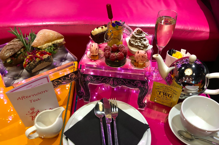 Vegan Champagne Afternoon Tea at Cake Boy - 'Experiences' are very popular gifts. The foodie in your life will love this champagne afternoon tea for two at The Café at Cake Boy in London's Battersea. With any luck you'll be their plus one. £80.