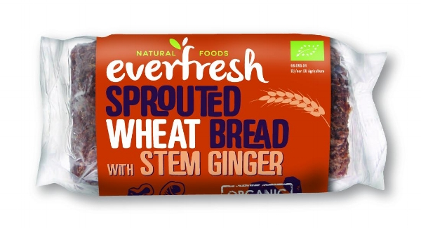 Toast doesn't get more Christmassy than this! Everfresh Sprouted Wheat Bread with Stem Ginger - Low in fat, no added sugar, yeast or preservatives, this bread is healthy and delicious. The addition of stem ginger makes it fragrant and packed with Christmas flavours. Add vegan butter and marmalade and enjoy the Yule breakfast of champions! £2 for a loaf