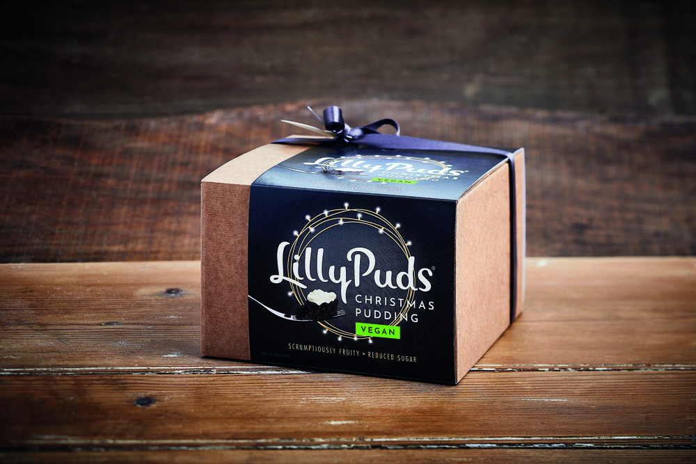 And for Pudding…LillyPuds Christmas Pudding - Delicious, vegan, and gluten-free. £12.49