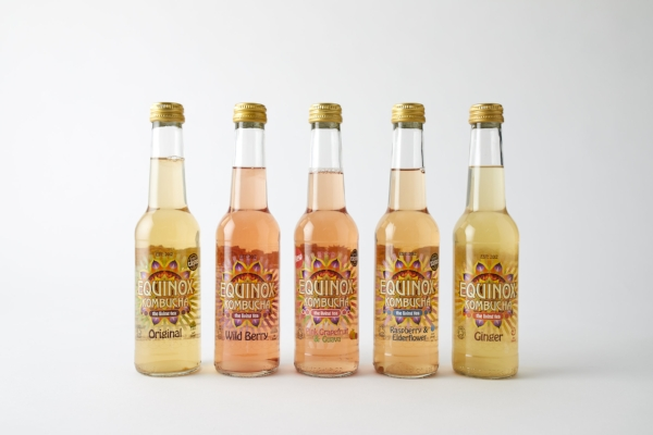 Teetotals Rejoice: Equinox Kombucha - Kombucha is great for your gut health and it's pretty darn tasty too. Equinox have several flavours, from original to ginger, raspberry and elderflower, wild berry and pink grapefruit and guava. From £9.99 for a pack of 5 bottles.