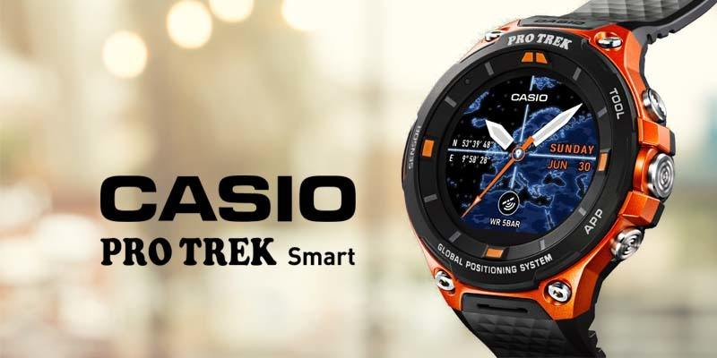 The Casio Pro Trek Smart (WSD-F20)