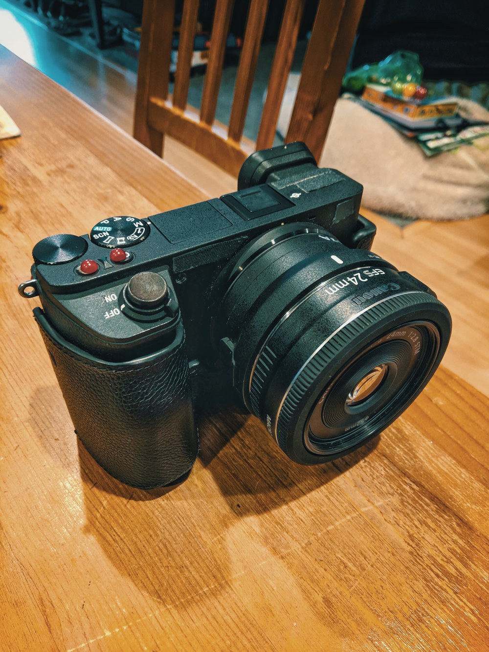 The Sony A6500 with MC-11 Adapter & Canon 24mm 2.8 Pancake Lens