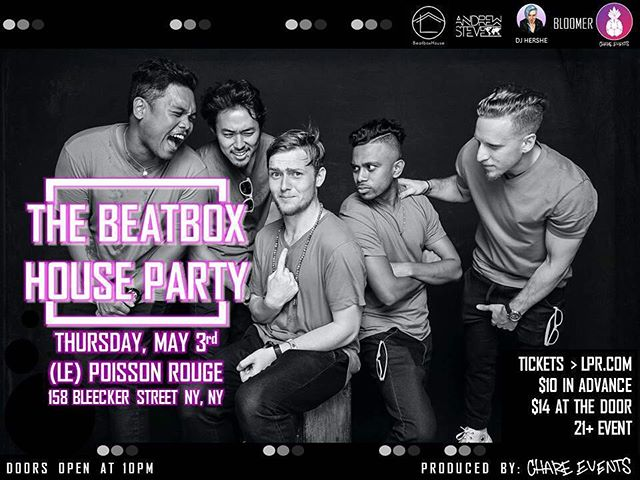One week until the next #thebeatboxhouseparty!!! Have you gotten your tickets yet?? Link in the bio!