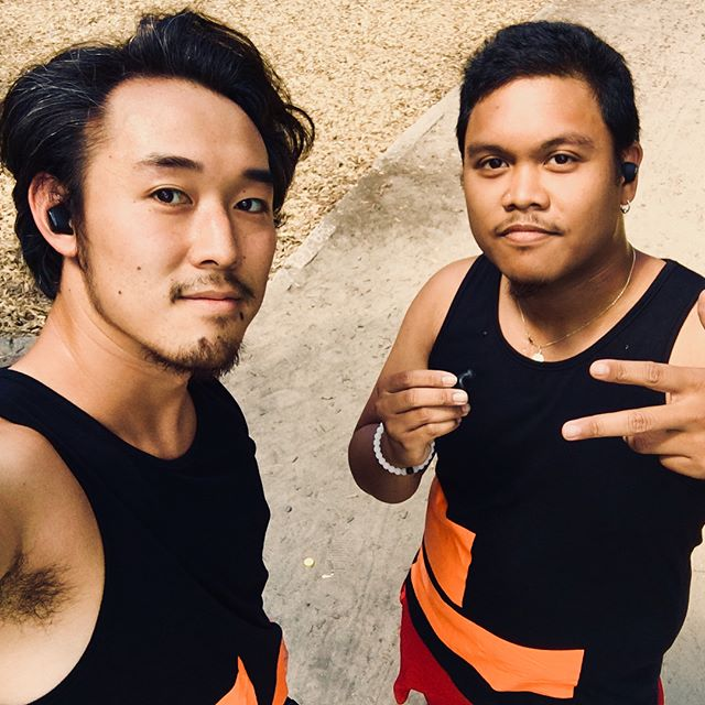 Endurance Training with the  #Nuforce #BEFree5 thanks for the hookups @asiabeatbox  #asiabeatbox #OptomaTaiwan
