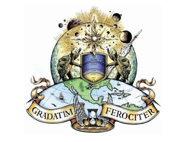 Blue Origin's motto: Gradatim ferociter. Indeed.