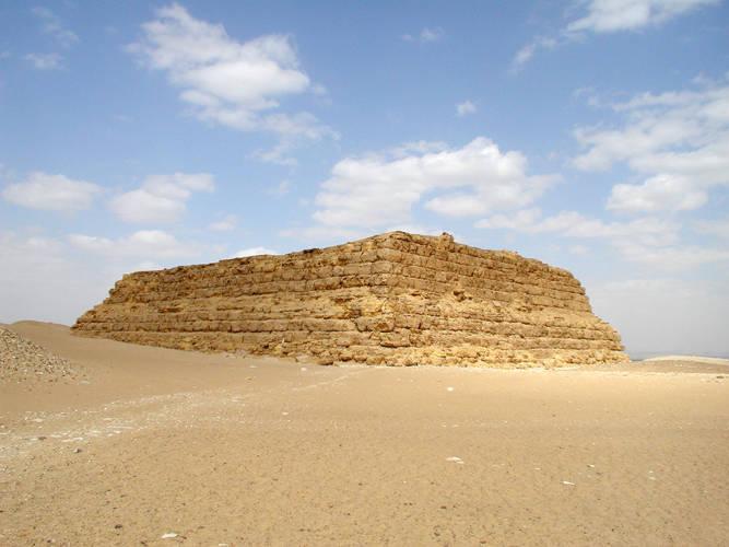 The Mastabat al-Fir'aun is a perfect example of a mastaba.