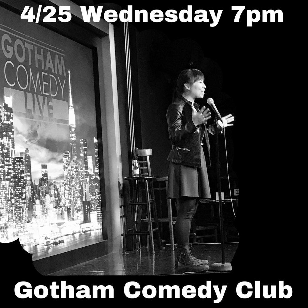 Gotham Comedy Club: New Talent Showcase 04/25/2018 Wednesday 7pm Tickets: http://gothamcomedyclub.com/event.cfm?id=506236&cart