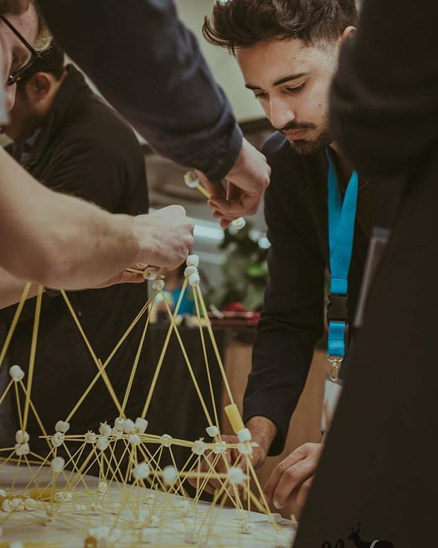 Our #i4h_calgary innovators have sure come a long way from pasta and marshmallows! Come to Demo Day on November 26 and see what they've got in store for you! Visit innovation4health.com/events-1 for more details. 📸: @nedaapotography