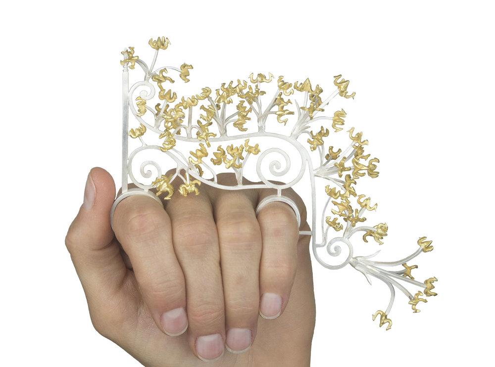 Versailles Gate Ring