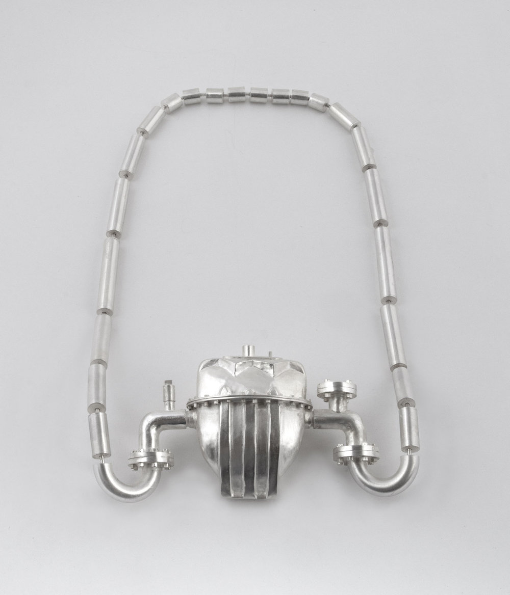 Fort Worth Gas Meter (necklace)