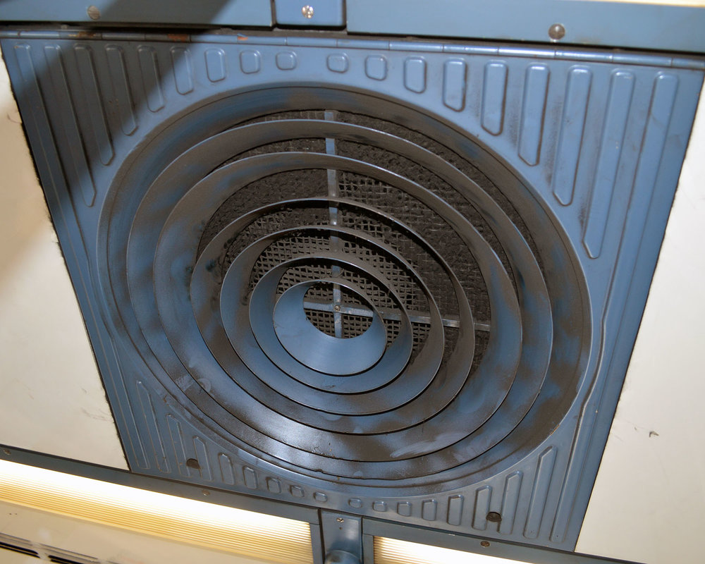 Metro Air Return Vent, Paris, France