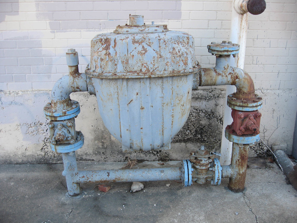 Industrial Gas Meter, Fort Worth, Texas