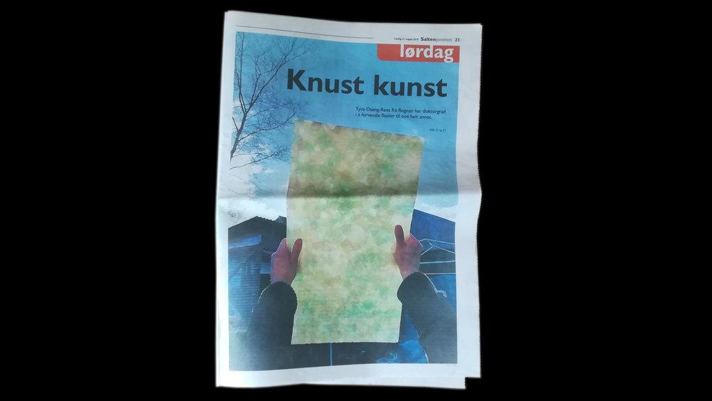 Saltenposten_first page