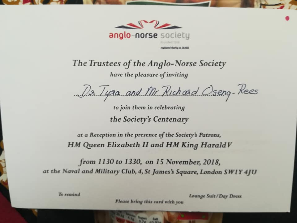 Invitation from Anglo Norse Society