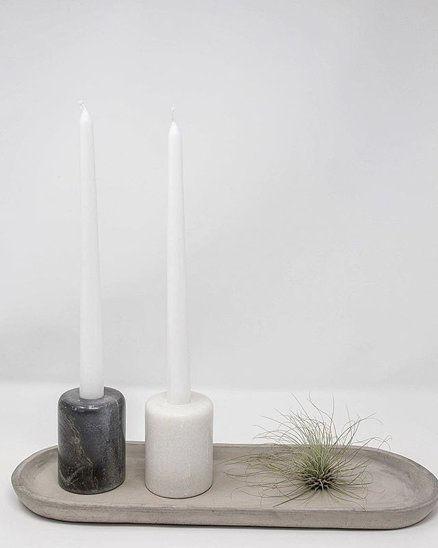 Sometimes candle holders are a necessity for shedding a little light. Sometimes they are used to give height to a beautiful table scape or mantle. Sometimes they need to stand out, and sometimes they need to blend in. Sometimes they are so heavy that they are perfect for holding down a tablecloth at a picnic or knocking out an unwanted intruder...these modern natural marble candle holders fit the bill on all accounts! (Full disclosure: Whenever I handle one of them, I always ponder how they could def hurt someone, or break a toe...in the most stylish way possible🔥) . . . . #betrayzy #vailheadquarters #vailhq #temeculagiftshop #wearebeacons #handmade #natural #marble #airplant #wearebeacons