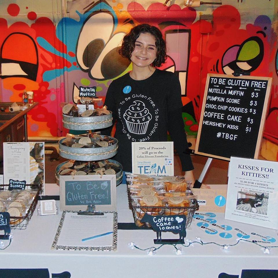 Zoe at To Be Gluten Free's table!