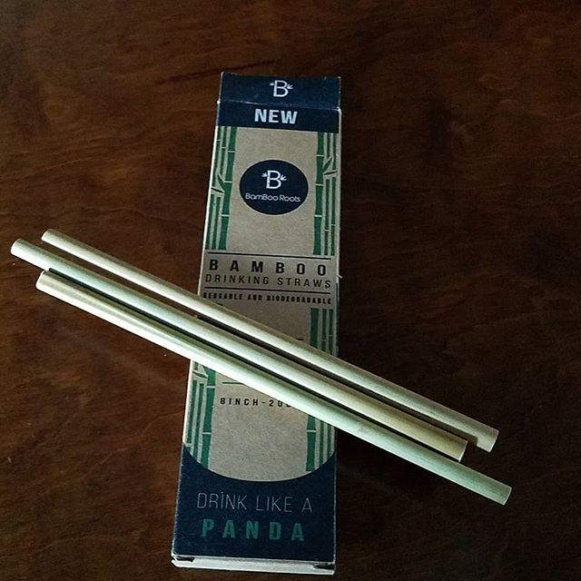 We started carrying reusable bamboo straws! Grab one for only $2 to help cut down on straw waste.