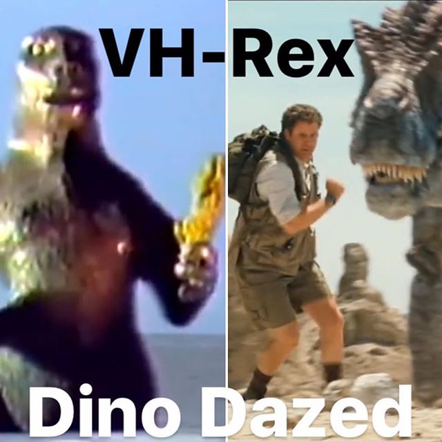 Free Pool & Pong 8-close tonight w/ VH-REX in the Backyard at 9! This month's films will be Ganjasaurus Rex & Land of the Lost, projected on the Backyard's big screen with @prof.n.knots 🌴🎱🦖