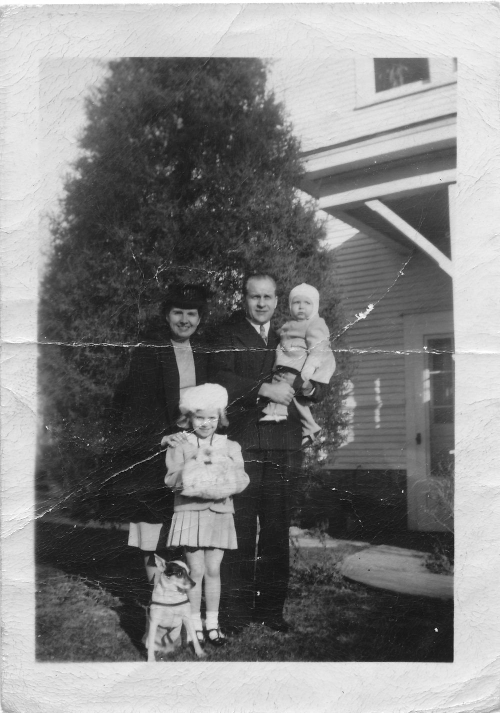 Woodrow Kull and family