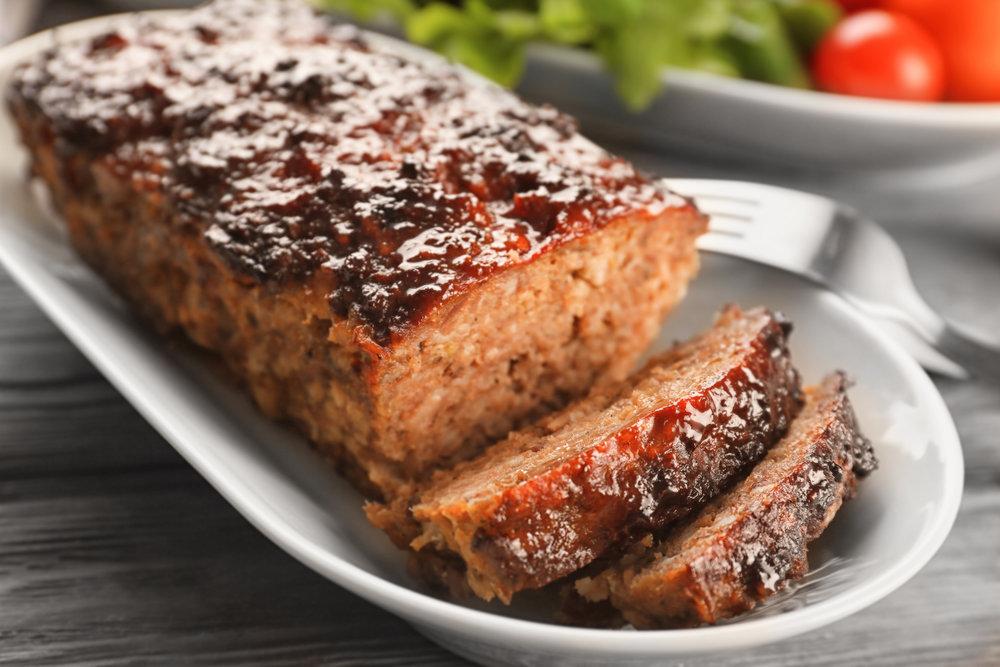 Hoising Glazed Turkey Meatloaf | The Tish Kitchen
