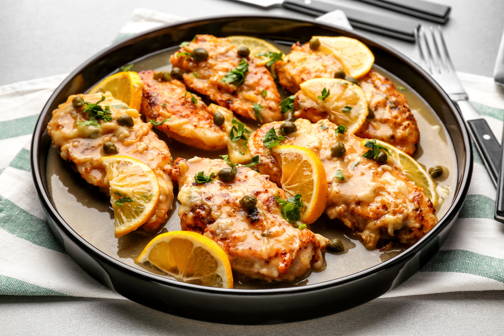 Monday Night Chicken Piccata | The Tish Kitchen | Food & Lifestyle Blog
