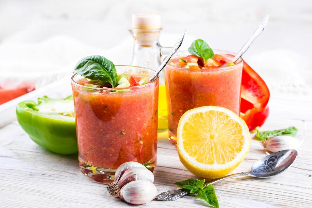 Justine's Gazpacho | The Tish Kitchen | Food & Lifestyle Blogger
