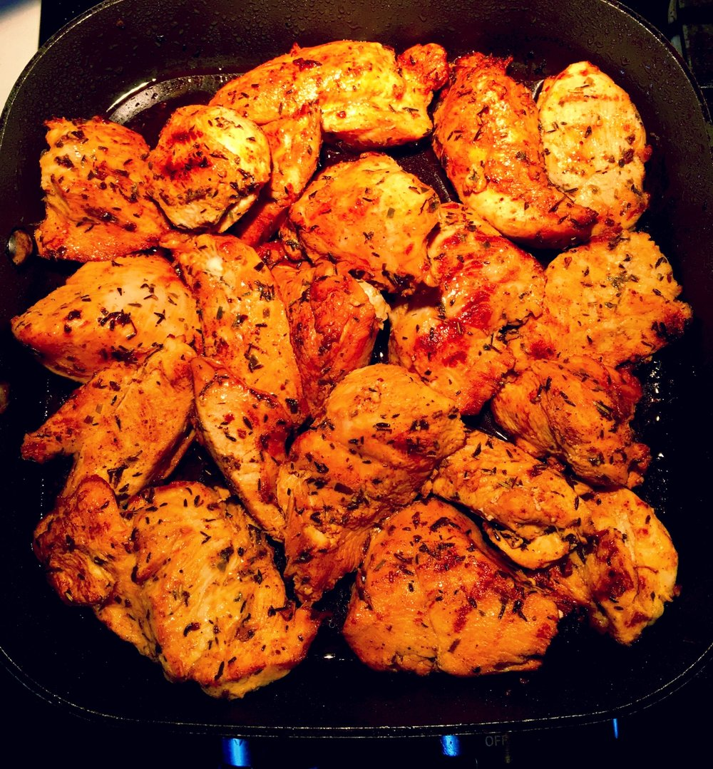 Make Ahead Monday - Lime Herbed Chicken | The Tish Kitchen | Food & Lifestyle Blogger