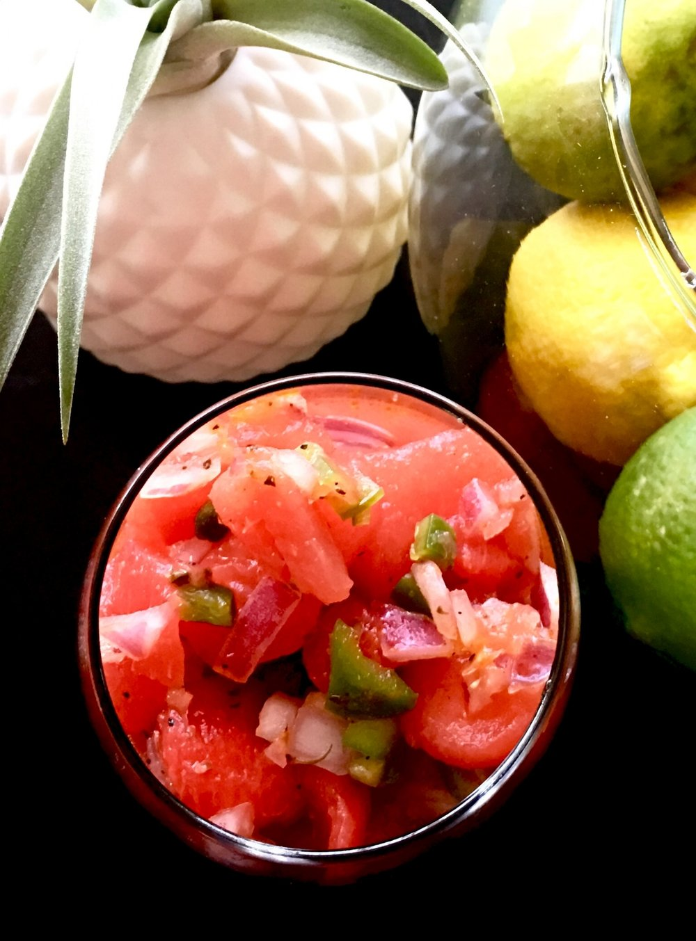 Watermelon Salsa - Refreshing, Sweet & Spicy | The Tish Kitchen | Food & Lifestyle Blogger
