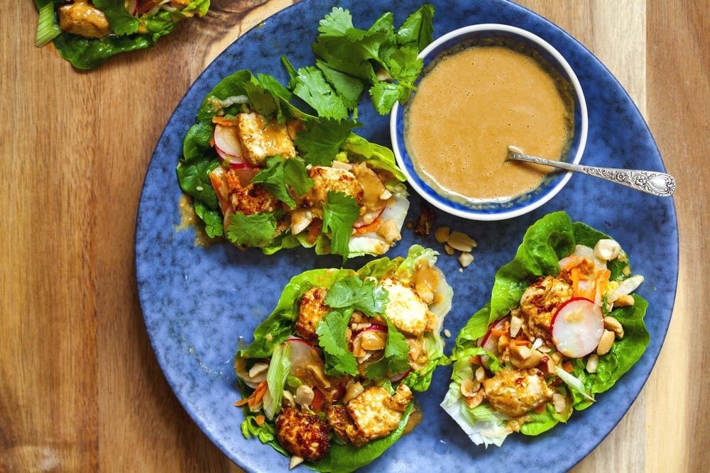 Tofu Tacos with Sesame Ginger Dressing | The Tish Kitchen | Food & Lifestyle Blogger