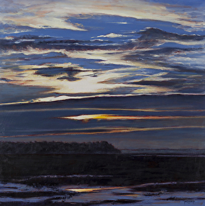 """""""Sky Series #6""""  Oil on Canvas  30"""" x 30"""""""
