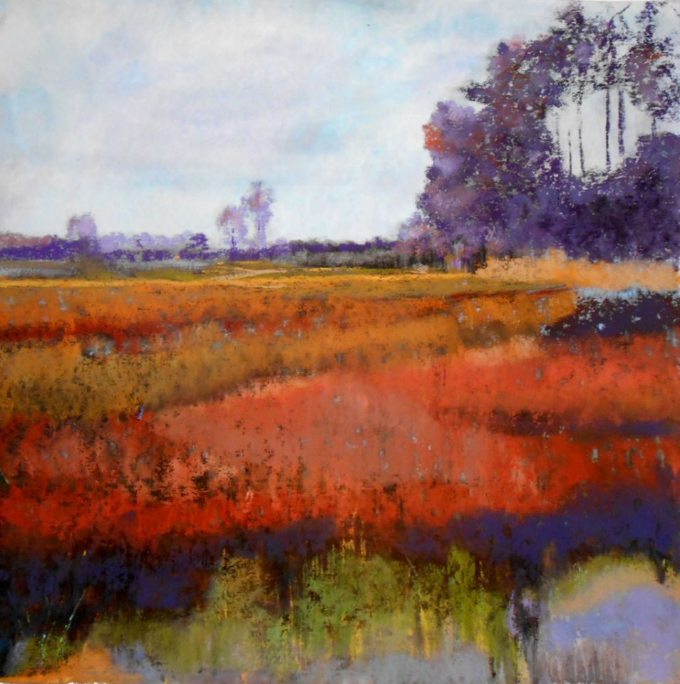 Spring on the Marsh, 16x16.jpg