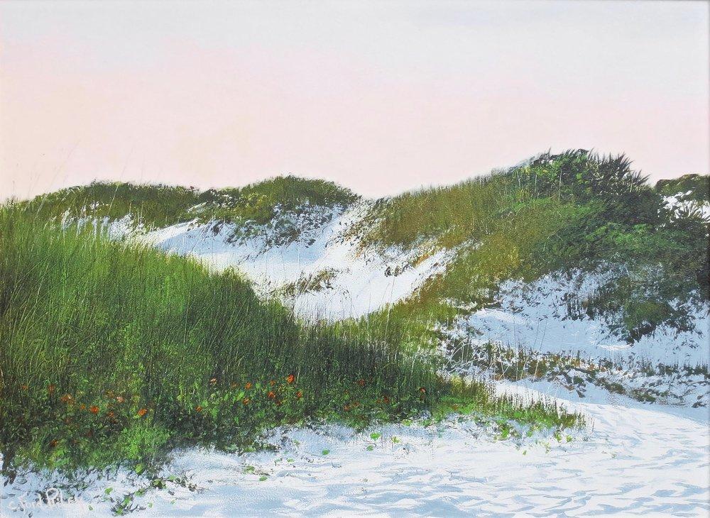 """""""Dunes""""  Oil on Panel  18"""" x 24"""""""