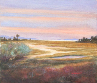 """Lowcountry Marsh""  Watercolor on Paper  8.5"" x 10"""