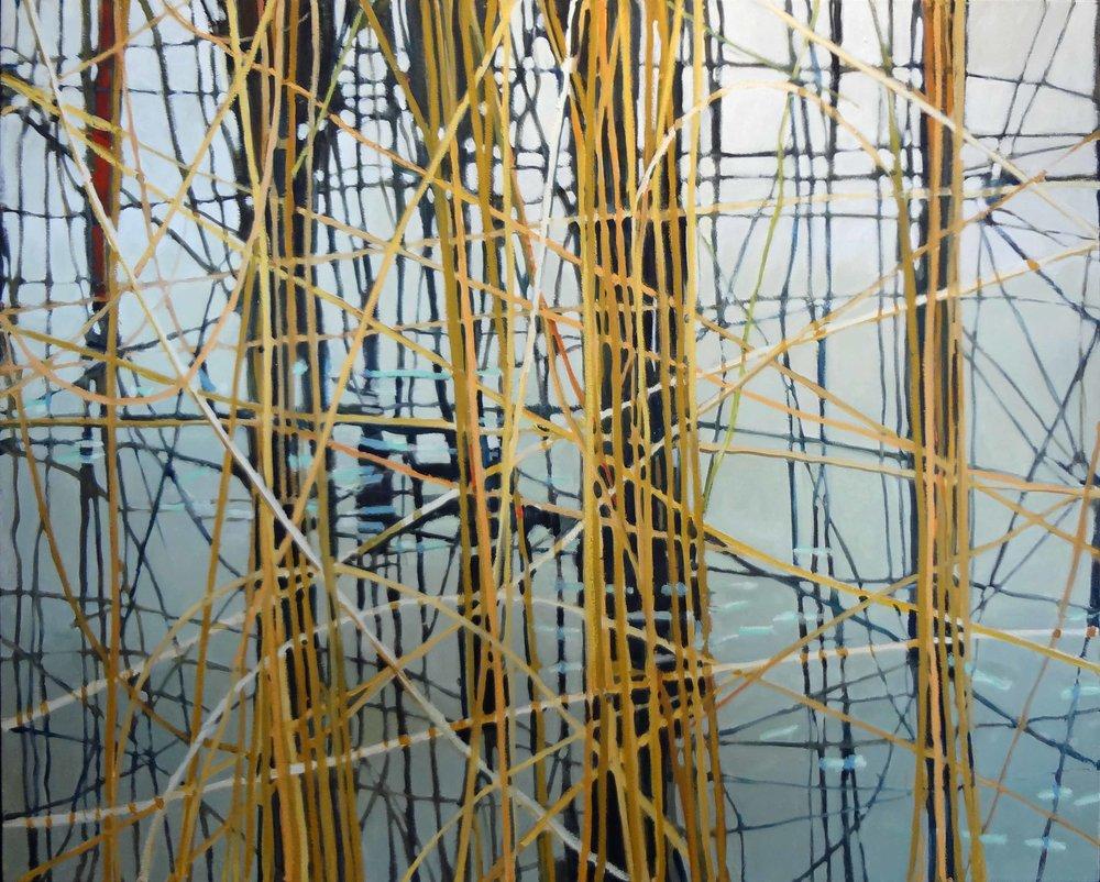 """Basketcase""  Oil on Canvas  40"" x 50"""
