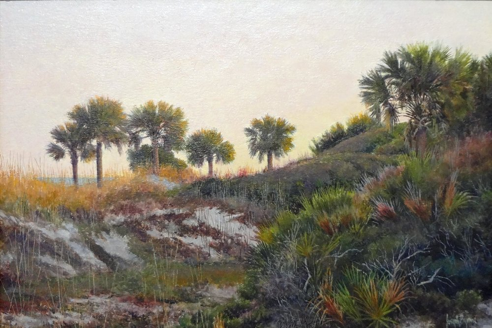 """Afterglow"" (Hunting Island Study)  #15103  Oil on Canvas  11"" x 16"""