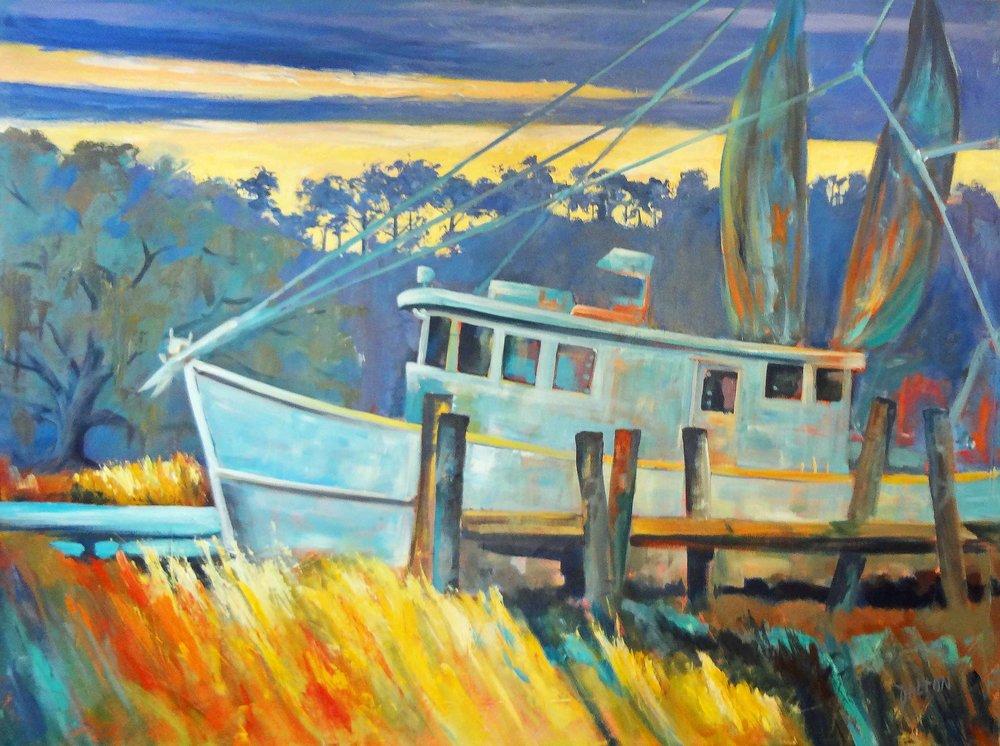 """""""Back Home""""  Acrylic on Canvas  36"""" x 48"""""""