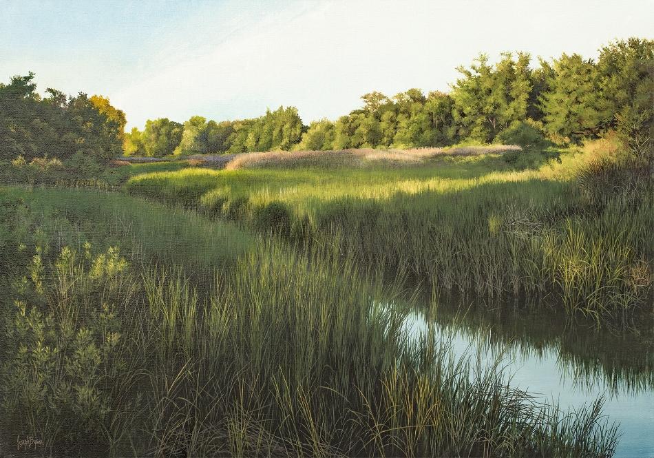 The Salt Marsh, 28x40