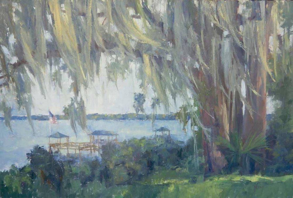 """""""Mossy Oak""""  Oil on Canvas  36"""" x 48"""""""