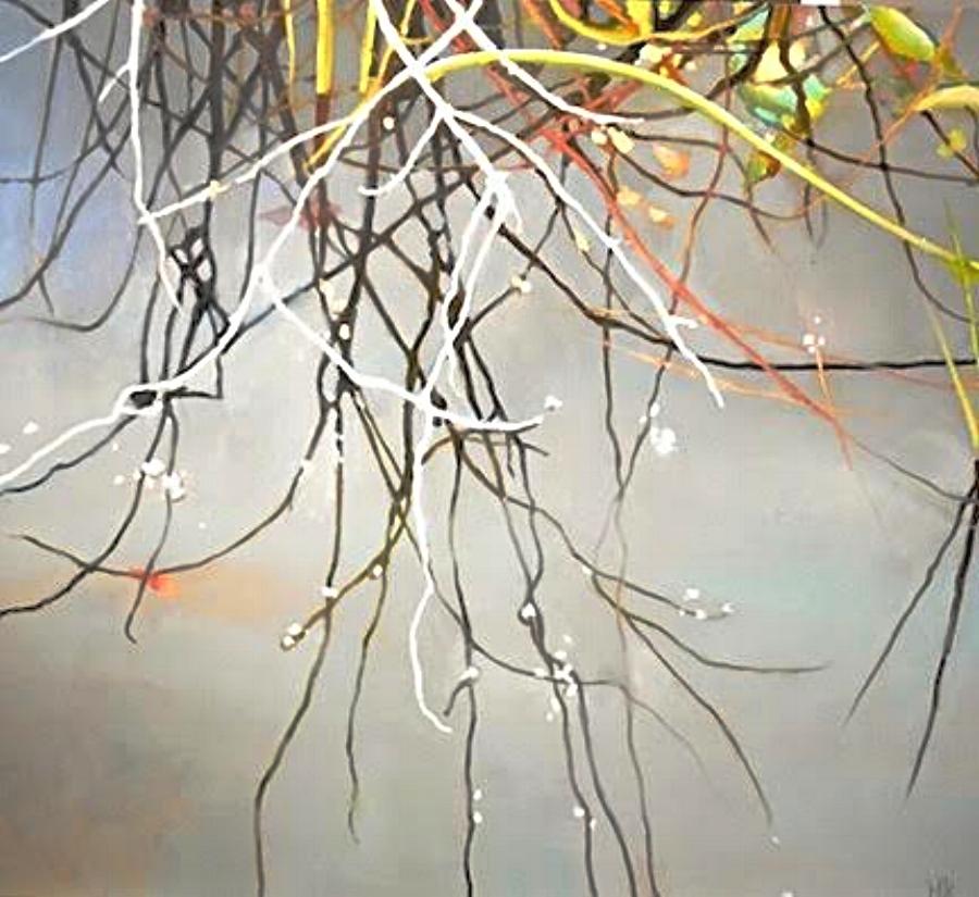 """""""Cascade""""  Oil on Canvas  36"""" x 40"""""""